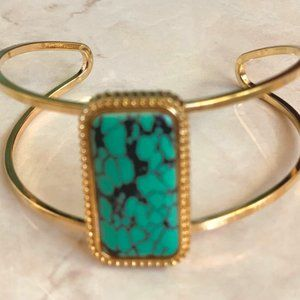Jewelry - Bangle with turquoise stone